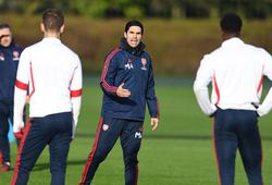 HLV Arteta gây choáng cho cầu thủ Arsenal bằng phương pháp tập luyện mới