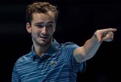 Kết quả quần vợt ATP Cup hôm nay 3/1: Medvedev thắng ngược Fognini, Nga đánh bại Ý