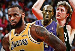 """LeBron James vào CLB triple-double """"khủng"""" cùng Kobe Bryant và Larry Bird"""