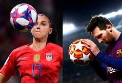 Messi kiếm gấp 274 lần cầu thủ nữ nhận lương cao nhất thế giới
