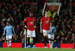 2 trung vệ MU được chấm điểm thấp chưa từng thấy trước Man City