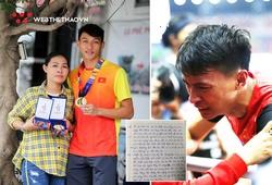 """""""Chàng trai đánh cắp trái tim"""" Trần Nhật Hoàng: Nhắc đến mẹ là khóc, dễ thương viết thư tay trả lời phỏng vấn"""