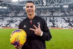 Ronaldo đã lập hat-trick ở 10 giải đấu trong sự nghiệp như thế nào?