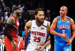 Từ Carmelo Anthony đến Derrick Rose rồi Chris Paul toả sáng, năm 2020 mà cứ ngỡ 2011