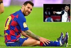 Fan Ronaldo gây hấn Messi sau khi Barca thua ở Siêu Cúp Tây Ban Nha