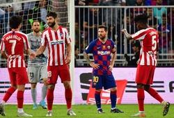 Messi tự trách Barca mắc sai lầm của trẻ con khi thua ngược Atletico