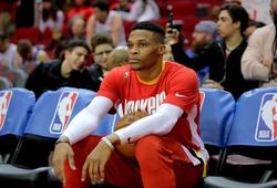 Russell Westbrook rớm nước mắt khi trở về mái nhà xưa