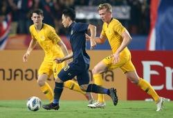Thua ngược U23Australia, U23 Thái Lancó nguy cơ bị loại