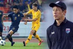 HLV Nishino thừa nhận sai lầm vì U23 Thái Lan không thể đua thể lực