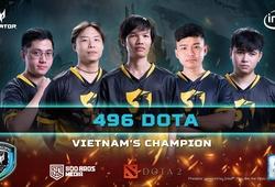 Predator League Việt Nam Dota 2: 496 hủy diệt Team Impunity lên ngôi vô địch