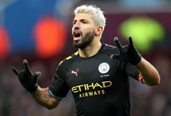 Aguero phá 2 kỷ lục ở Ngoại hạng Anh khiến CĐV Aston Villa bỏ về sớm