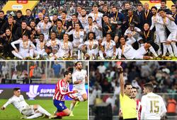 Real Madrid được cứu thua bằng… thẻ đỏ trước loạt luân lưu với Atletico