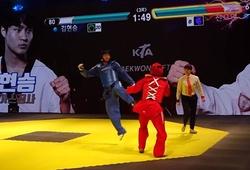 Giải Taekwondo Hàn Quốc áp dụng công nghệ chấm điểm tương tự game Tekken