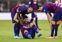 Suarez nghỉ thi đấu sẽ khiến Barca mất bao nhiêu bàn thắng?