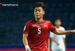 Đức Chiến bất ngờ lọt nhóm Cầu thủ hay nhất lượt thứ 2 U23 châu Á 2020