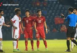 Hàng công U23 Việt Nam gây thất vọng do thiếu tính đột biến