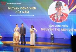 Nữ VĐV của năm Cúp Chiến Thắng 2019, Nguyễn Thị Ánh Viên: Hat-trick xứng đáng