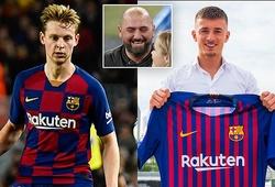 Barca thải hồi con trai siêu cò giúp CLB thực hiện bom tấn De Jong