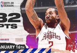 Kawhi Leonard ghi 32 điểm, LA Clippers 12 lần liên tiếp vượt qua Orlando Magic