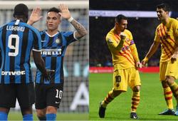Lukaku và Martinez ghi nhiều bàn hơn cả Messi và Suarez ở mùa này
