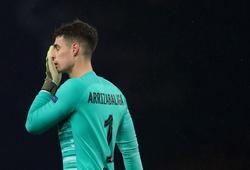 Thủ môn Chelsea xếp hạng gần bét bảng châu Âu sau trận thua Newcastle