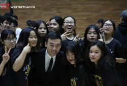 Chùm ảnh: Khoảnh khắc đăng quang tại giải Bóng rổ HKPĐ Hà Nội
