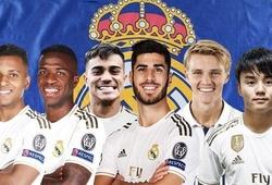 Real Madrid đã chi 132 triệu euro để xây dựng đội hình tương lai