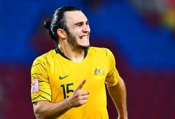 Người hùng U23 Australia hạnh phúc khi giành vé dự Olympic 2020