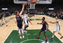 Không Giannis Antetokounmpo, Milwaukee Bucks vẫn ghi điểm số kỷ lục