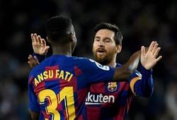 Ansu Fati lập kỷ lục với Barca với 2 đường kiến tạo từ Messi