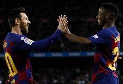 Messi gây kinh ngạc với đường kiến tạo giữa vòng vây 10 cầu thủ