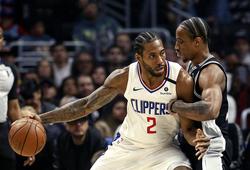 """Paul George cùng Kawhi Leonard """"song kiếm hợp bích"""", Clippers đả bại San Antonio Spurs"""