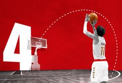 """NBA All-Star 2020: Đổi format 3-Point Contest, ra mắt cú ném """"4 điểm"""" đầy hấp dẫn"""