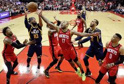 Ngộp thở trước kết thúc điên rồ của trận đấu Houston Rockets vs Utah Jazz
