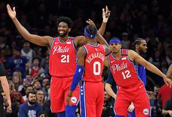 """Ben Simmons toả sáng, Embiid làm """"haters"""" câm lặng trong ngày Philadelphia hạ gục Clippers"""