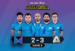 Alliance đánh bại Nigma ở vòng loại Minor kịch tính nhất trong lịch sử Dota 2
