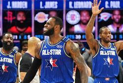 LeBron James vượt qua cố huyền thoại Kobe Bryant trong lịch sử NBA All-Star Game
