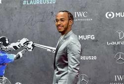 Lewis Hamilton cùng Messi chia giải Laureus - Oscar của thể thao thế giới