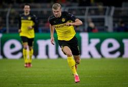 Haaland chạy nước rút gần bằng kỷ lục thế giới trong trận Dortmund vs PSG