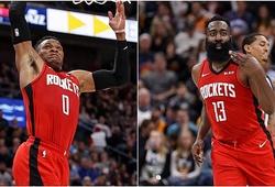 James Harden và Russell Westbrook giúp Rockets có màn trả thù ngọt ngào trước Jazz