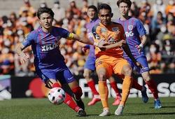 Tiền đạo Thái Lan lại ghi bàn trong ngày ra mắt ở Nhật Bản