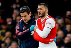 """Arsenal """"hưởng lợi"""" bất ngờ từ chấn thương của Kolasinac ở trận thắng Everton"""