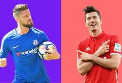 Đội hình ra sân dự kiến Chelsea vs Bayern Munich: Giroud đấu Lewandowski