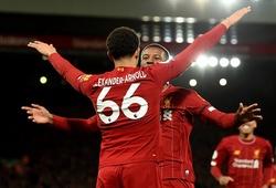 Hậu vệ Liverpool đạt cột mốc kiến tạo phi thường ở Ngoại hạng Anh