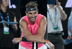Giải quần vợt Mexico Open: Vì sao Nadal vui khi thắng đồng hương dưới cơ?