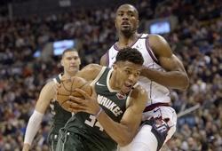 Giannis Antetokounmpo suýt đạt triple-double, Milwaukee Bucks đạt mốc 50 trận thắng