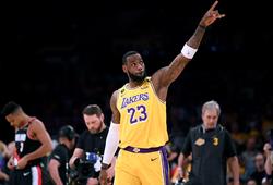 LeBron James chơi trận hay nhất mùa giải, chặn đứng Zion và New Orleans Pelicans