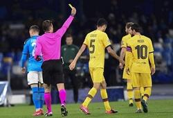 Messi và Griezmann có nguy cơ bị treo giò ở Cúp C1 với Barca