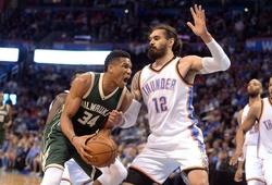 Nhận định NBA: Milwaukee Bucks vs Oklahoma City Thunder (ngày 29/2, 08h00)
