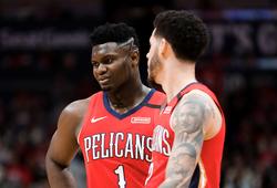 """Thi đấu ngày càng ăn khớp, Lonzo Ball và Zion Williamson biến Pelicans thành """"nam châm hút fans"""""""